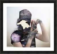 Double Exposure Serie Picture Frame print