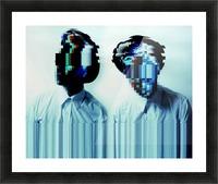 Glitch Serie Picture Frame print
