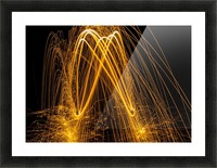 Spin 8 Picture Frame print