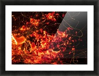 Blast Picture Frame print