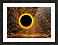 Spin 1 Picture Frame print