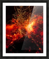 Fire Dance Picture Frame print