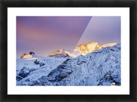 Mont Gran Paradiso, Gran Paradiso National Park; Italy Picture Frame print