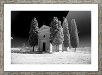 Tuscany Montalcino Picture Frame print