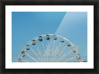 Ferris wheel at the Central Pier; Blackpool, England Picture Frame print