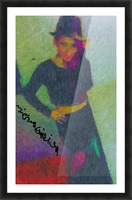 Black Magic Woman Picture Frame print