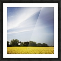 Scania sky Picture Frame print