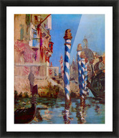 Grand Canal in Venice by Edouard Manet Picture Frame print