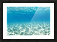 Underwater Picture Frame print