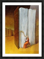 harp Picture Frame print