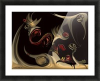 Memories of Invisible Reality Picture Frame print