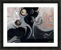 Act with Mystic Abstraction Picture Frame print