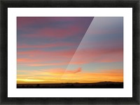 Amazing Sunset 4VP Picture Frame print