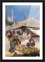 Mielich Orientalische Marktszene Picture Frame print