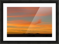 Amazing Sunset 1VP Picture Frame print
