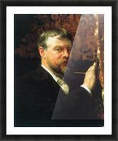 Self Portrait by Alma-Tadema Picture Frame print