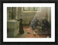 L'offrande Picture Frame print