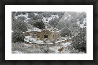 Ruins - Juan Tabo in Snow 2VP Picture Frame print