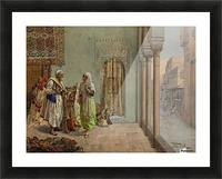 An Oriental Bazaar Picture Frame print
