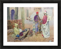 The carpet seller Picture Frame print
