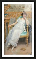 Contemplation, 1896 Picture Frame print