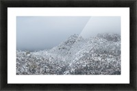 Sandia Mountains in Snow 1VP Picture Frame print