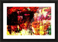 A Colorful Scene  Picture Frame print