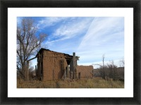 Turquoise Trail - Ruins in Golden 2VP Picture Frame print