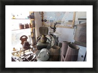Turquoise Trail - Dentist Chair in Cerrillos  1VP Picture Frame print