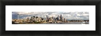 Seattle Picture Frame print