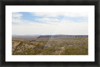 Landscape around Fort Craig VP5 Picture Frame print