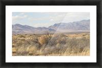 Landscape around Fort Craig VP1 Picture Frame print