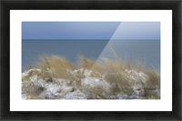 Gillson Beach in the Winter VP1 Picture Frame print