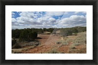 Landscape Near the Ruins of the Abo Pueblo VP9 Picture Frame print
