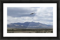 Mountains overlooking Highway 1  VP2 Picture Frame print