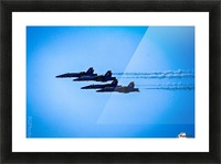 Flight Pattern Picture Frame print