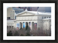 Field Museum from Northerly Island VP11 Picture Frame print