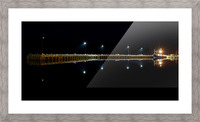 Nighttime at la Digue Picture Frame print
