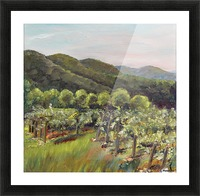 Fainting Goat Valley Best New Picture Frame print