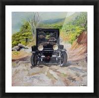 Popcorn Sutton - Looking For Likker Picture Frame print