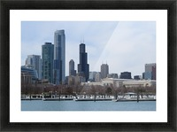 View of Chicago From Northerly Island VP2 Picture Frame print