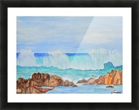 Ocean Wave Picture Frame print