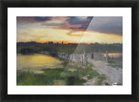 The Old Bridge over Hook Pond, East Hampton, Long Island Picture Frame print