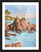 Squid Rock Picture Frame print
