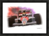 Senna Picture Frame print