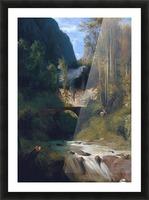 Schlucht bei Amalfi, 1831 Impression et Cadre photo
