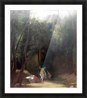 Badende Madchen im Park von Terni Impression et Cadre photo