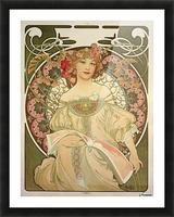 Champagne Printer Publisher 1897 Picture Frame print