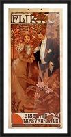 Flirt Lefevre Utile, 1899 Picture Frame print