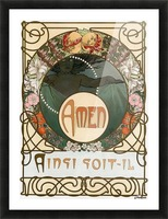 Amen Picture Frame print